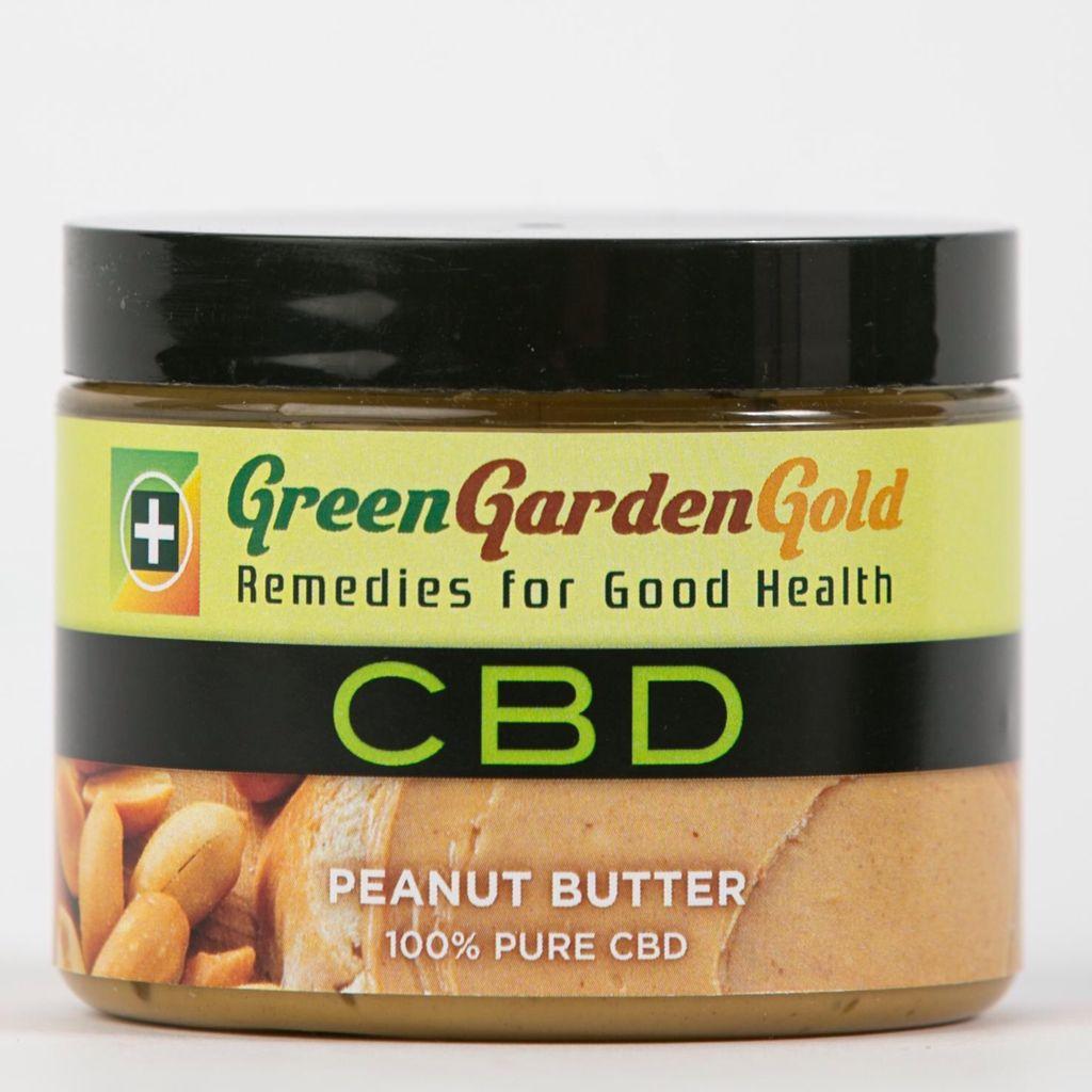 cbd peanut butter - Green Garden Gold