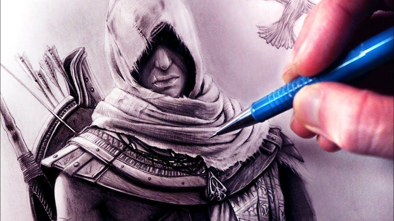 Let S Draw Assassin S Creed Origins Bayek Fan Art Friday
