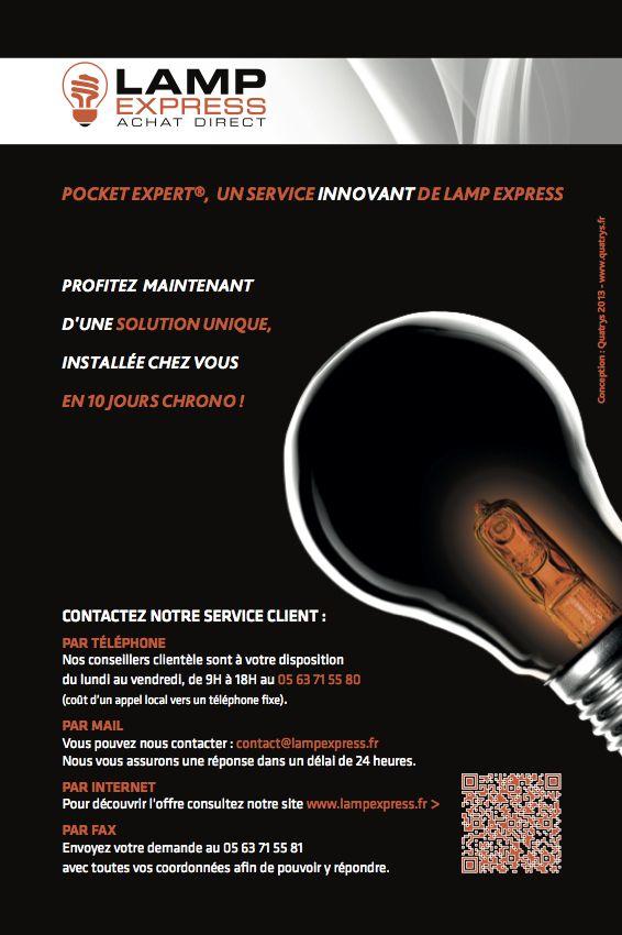 Lamp Express Plaquette