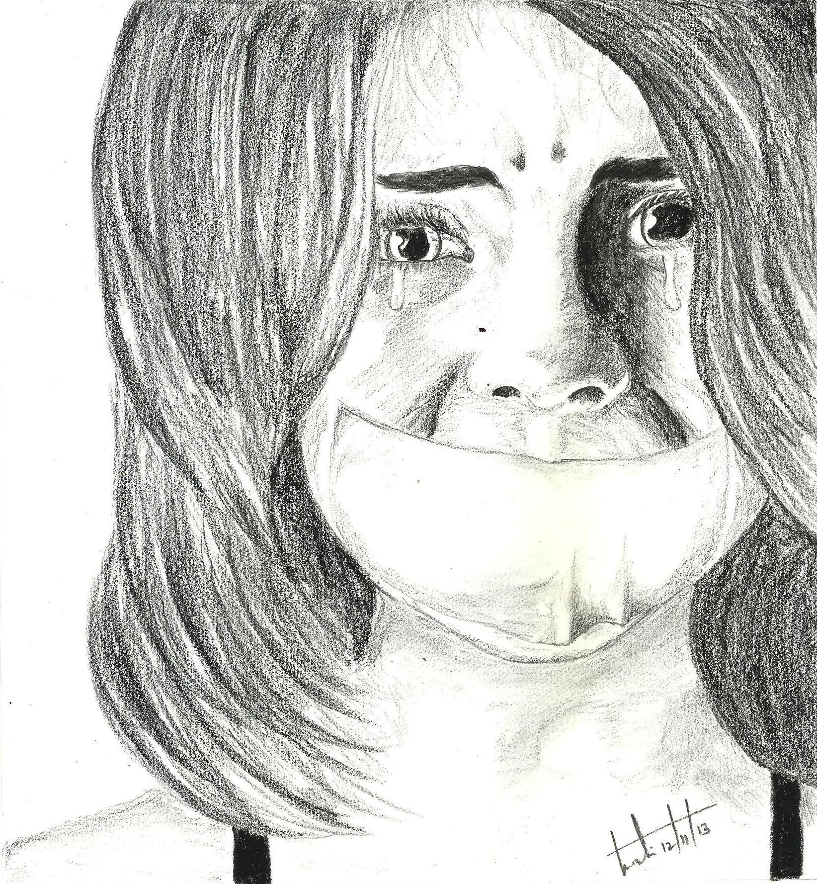 Stop child abuse pencil sketching pencil drawings domestic violence blame drawings in