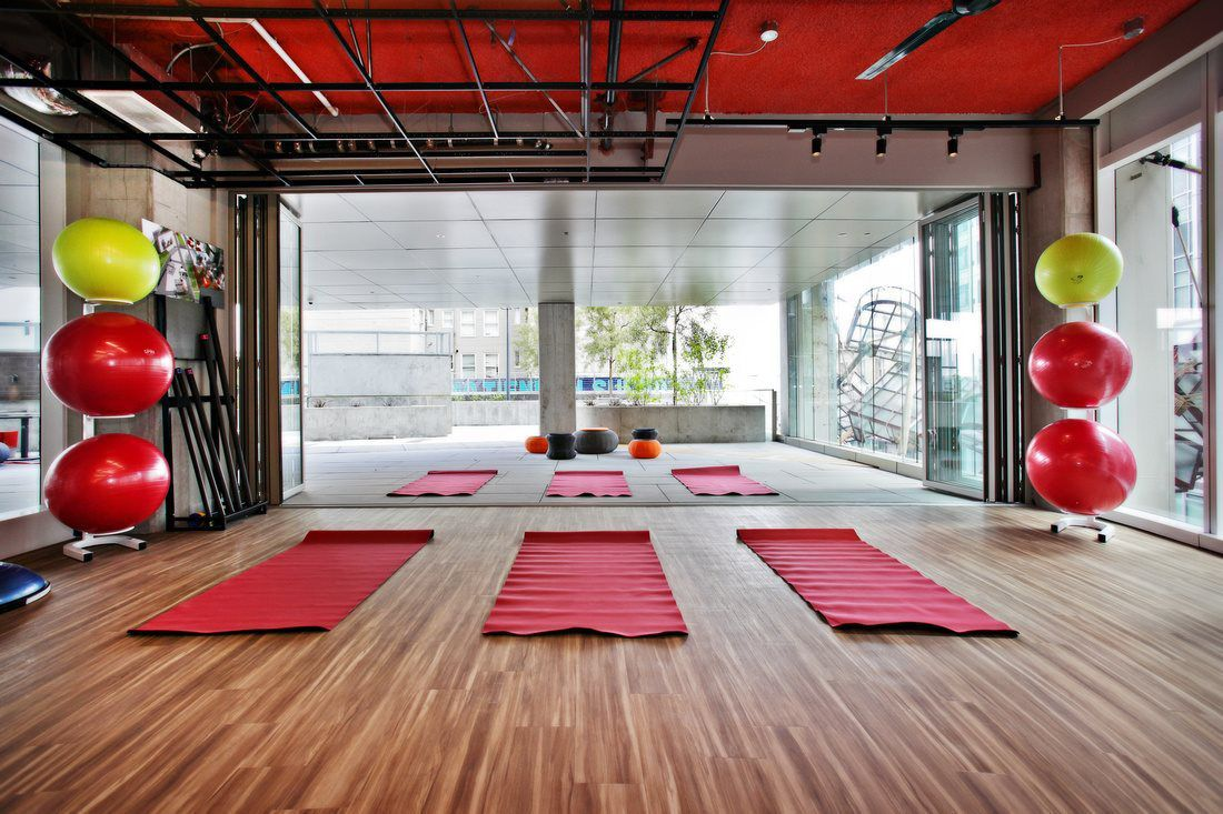 Yoga Pavillon | Indoor/Outdoor Fitness Design | Fitness ...