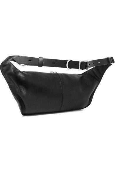 3ed467c27cd1 rag   bone - Ellis Large Textured-leather Belt Bag - Black ...
