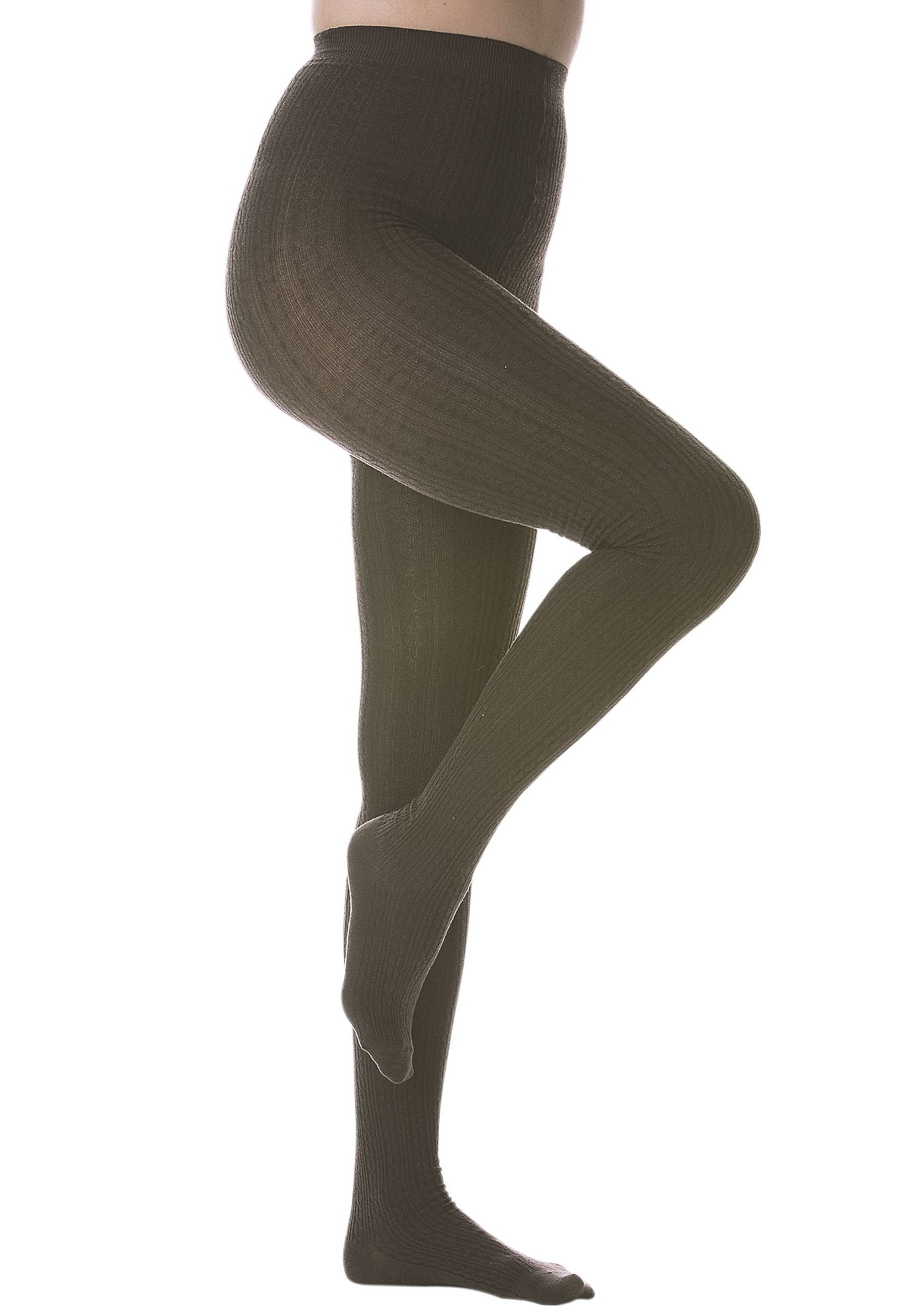 5a6417851b9 Plus Size Cable Sweater Tights