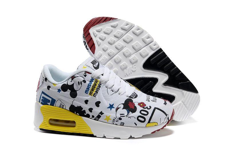 Vendre Pas Cher Enfants Chaussures Nike Air Max 90 0016 En ligne Magasin En  France.