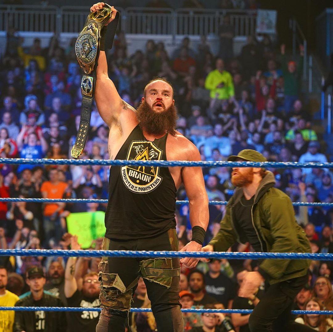 "WWE on Instagram ""Almost...BraunStrowman! SmackDown"" in"
