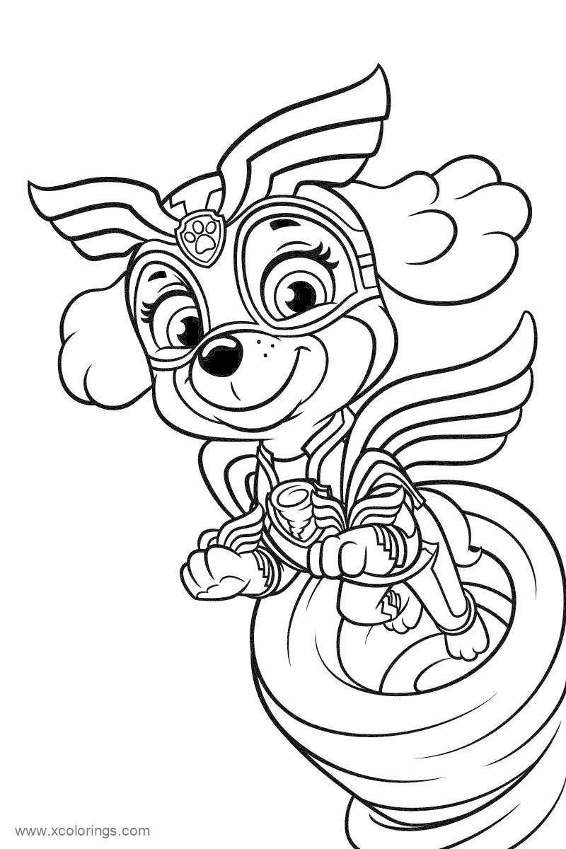 Print Paw Patrol Mighty Pups Chase Coloring Pages Paw Patrol Coloring Pages Paw Patrol Coloring Coloring Pages