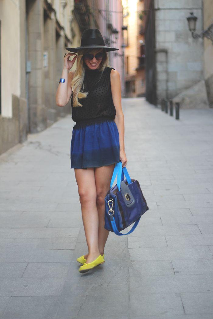 #fashion #fashionista Priscila nero blu