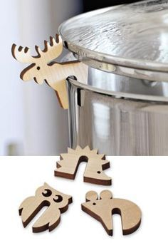 Little Pot Guard Critters: More Cute Ways To Let Off Steam!