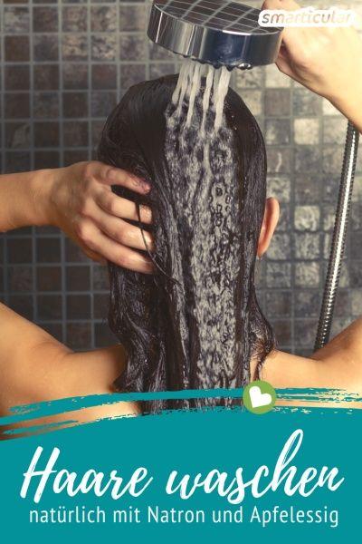 Haare waschen mit Natron - saubere Haare ganz ohne Shampoo
