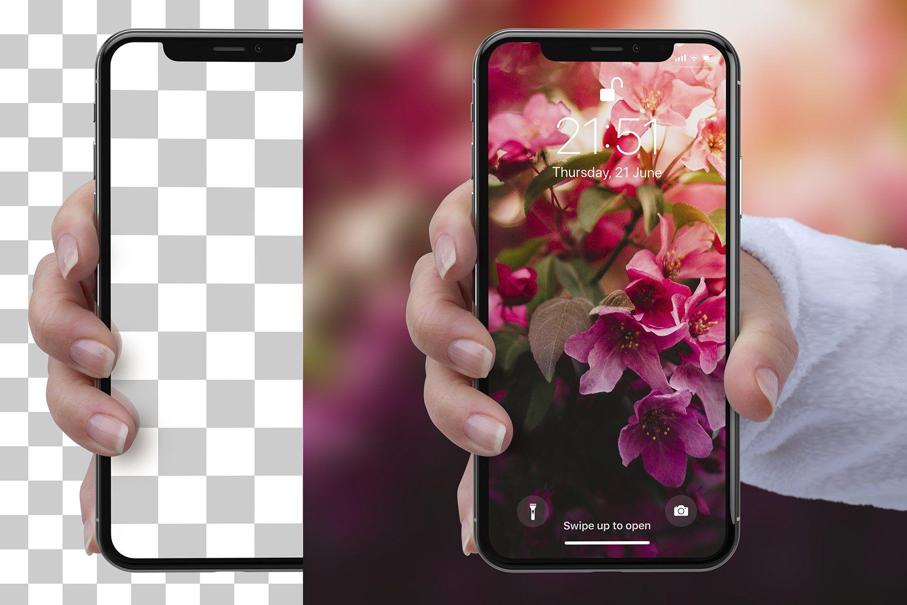 4 iPhone X Mockups Ad , Affiliate, objectlayersmart
