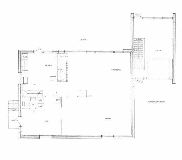 Planskiss - bottenvåning