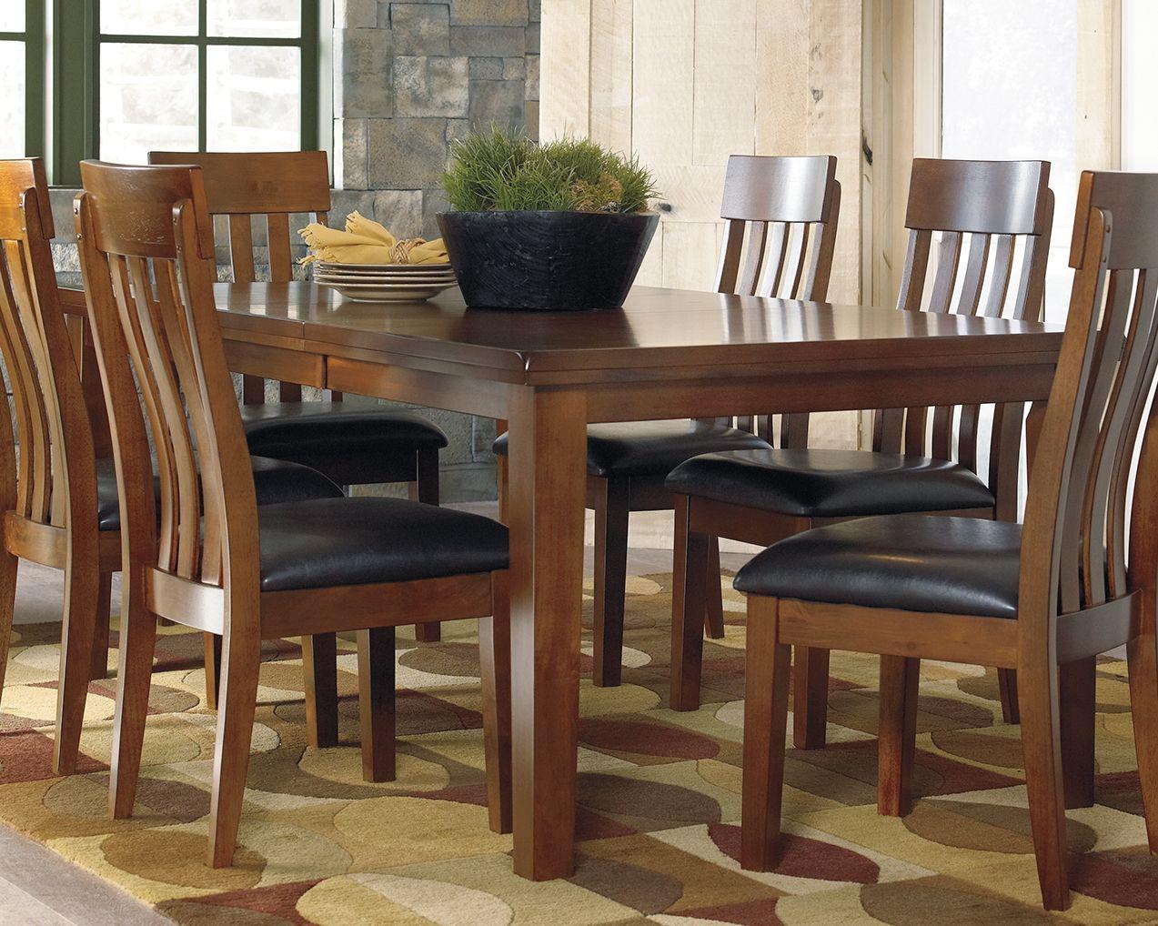Ralene Dining Room Extension Table Medium Brown In 2020 Dining Room Sets Extension Dining Table Dining Table