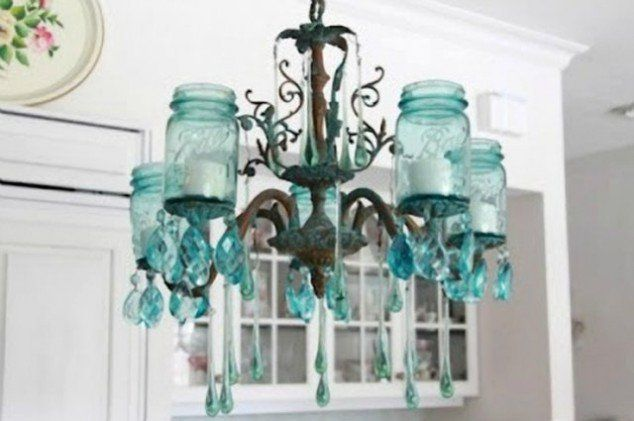teal chandelier - Google Search