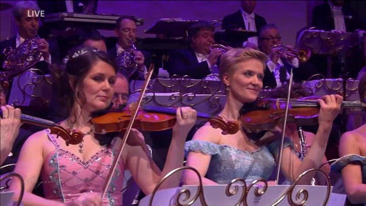 Andre Rieu Orchester Konzert Semperopernball Dresden 2017