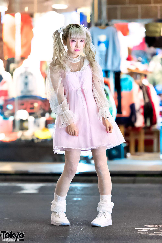 Japanese Idol Rinahamu in Harajuku w  Twintails   Kawaii Pastel Fashion 31c27464e8c7