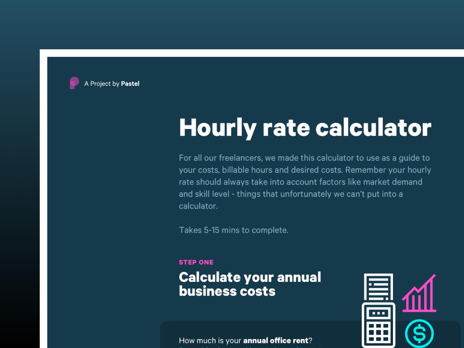 Hourly Rate Calculator Calculator Design Calculator Rate