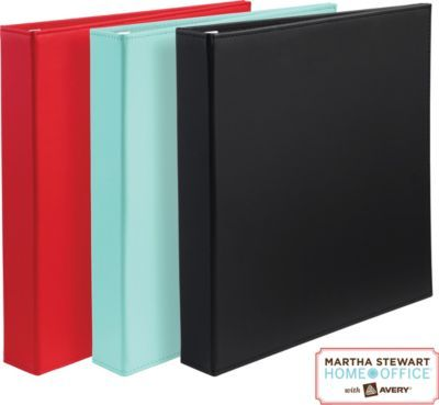 staples has the martha stewart home office with avery smooth