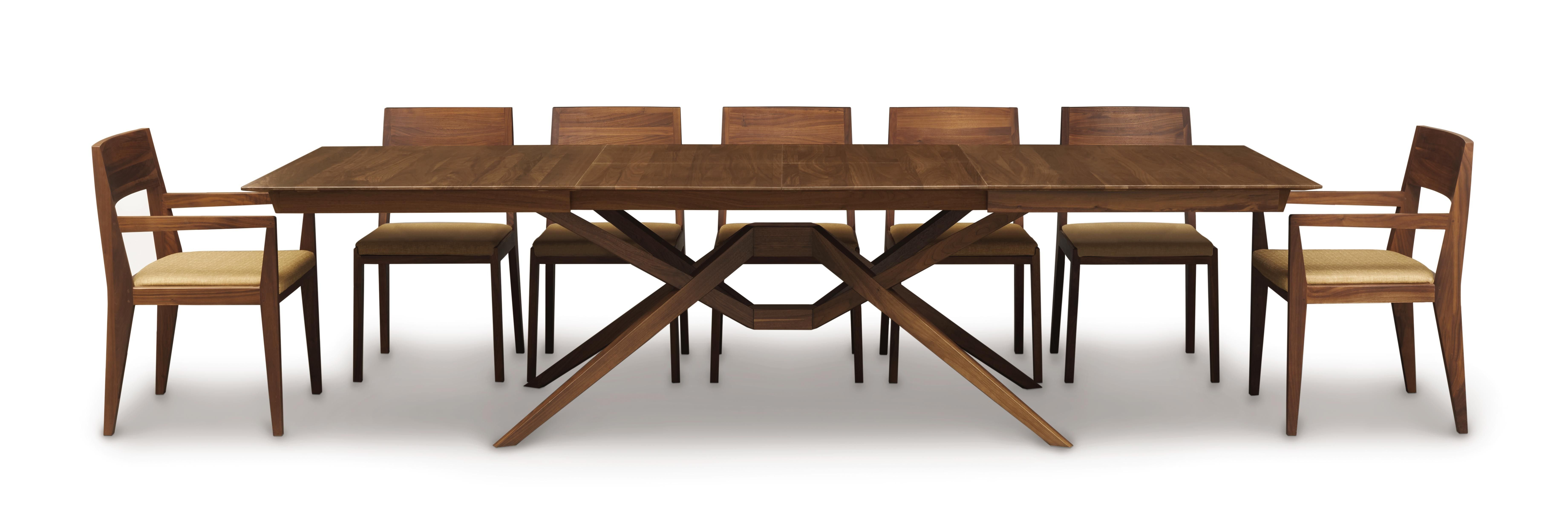 The Exeter Dining Room Is Crafted In Solid American Black Walnut Hardwood With