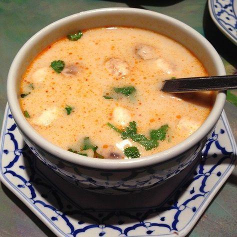 Photo of Thai Kokosmilch-Suppe