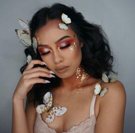 So beautiful!  Follow fabbabeshair for more beauty#brazilianhair#peruvianhair#indianhair#malaysianhair#humanhair#kinkycurlyhair#blackgirlmagic#blackgirlrocks#blackgirl #makeup #makeuptips #EyeMakeupWinter