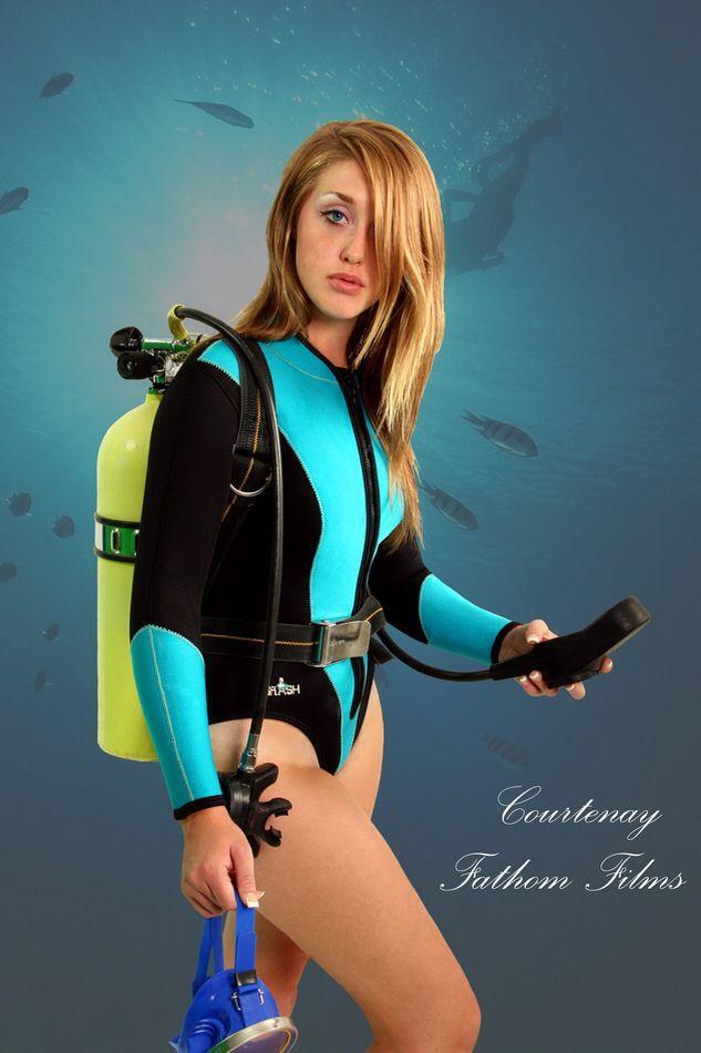 Splash Sexy Diver Women In Wetsuits Pinterest Scubas