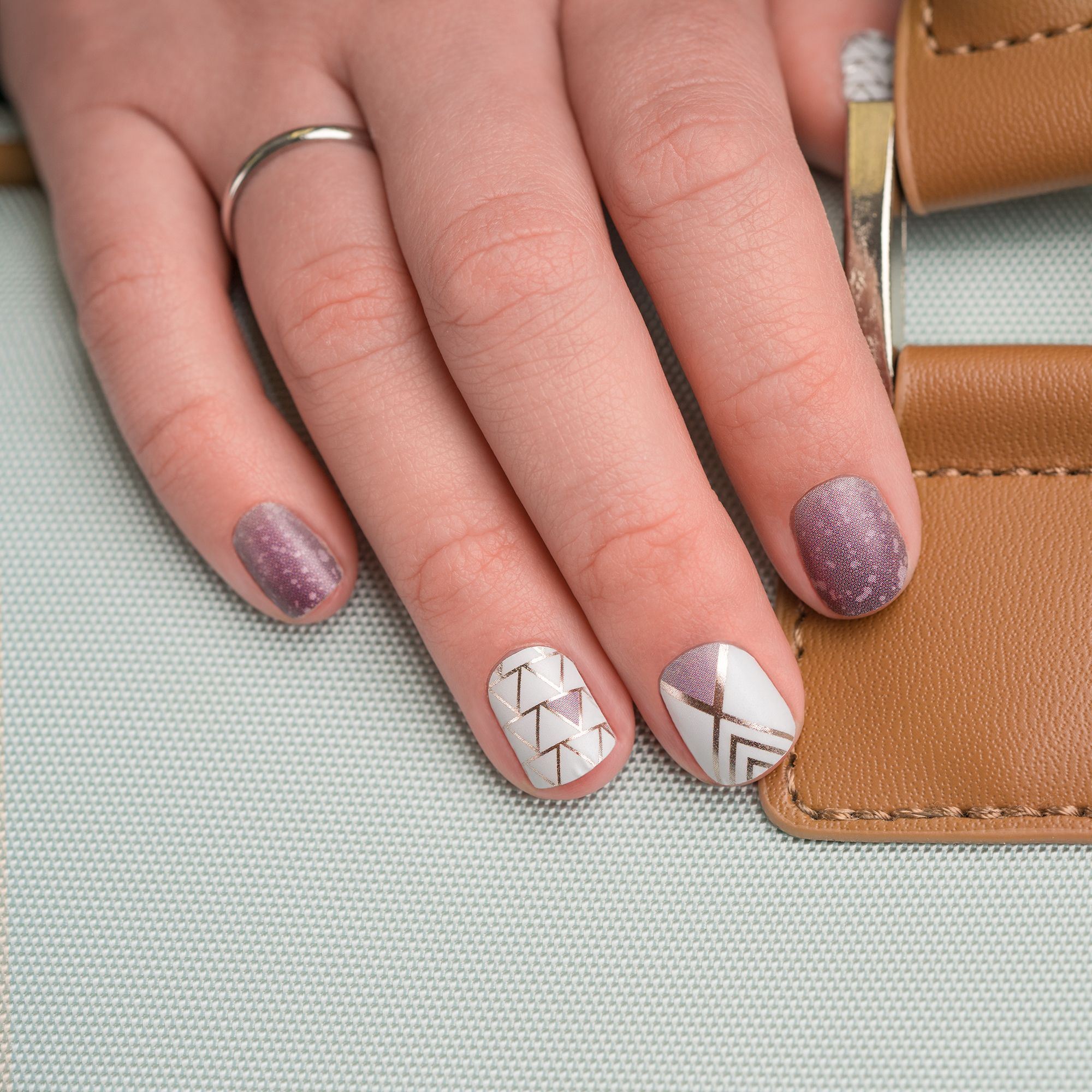 New Kingdom, with, Night Fall | Nail ideas - Jamberry and others ...