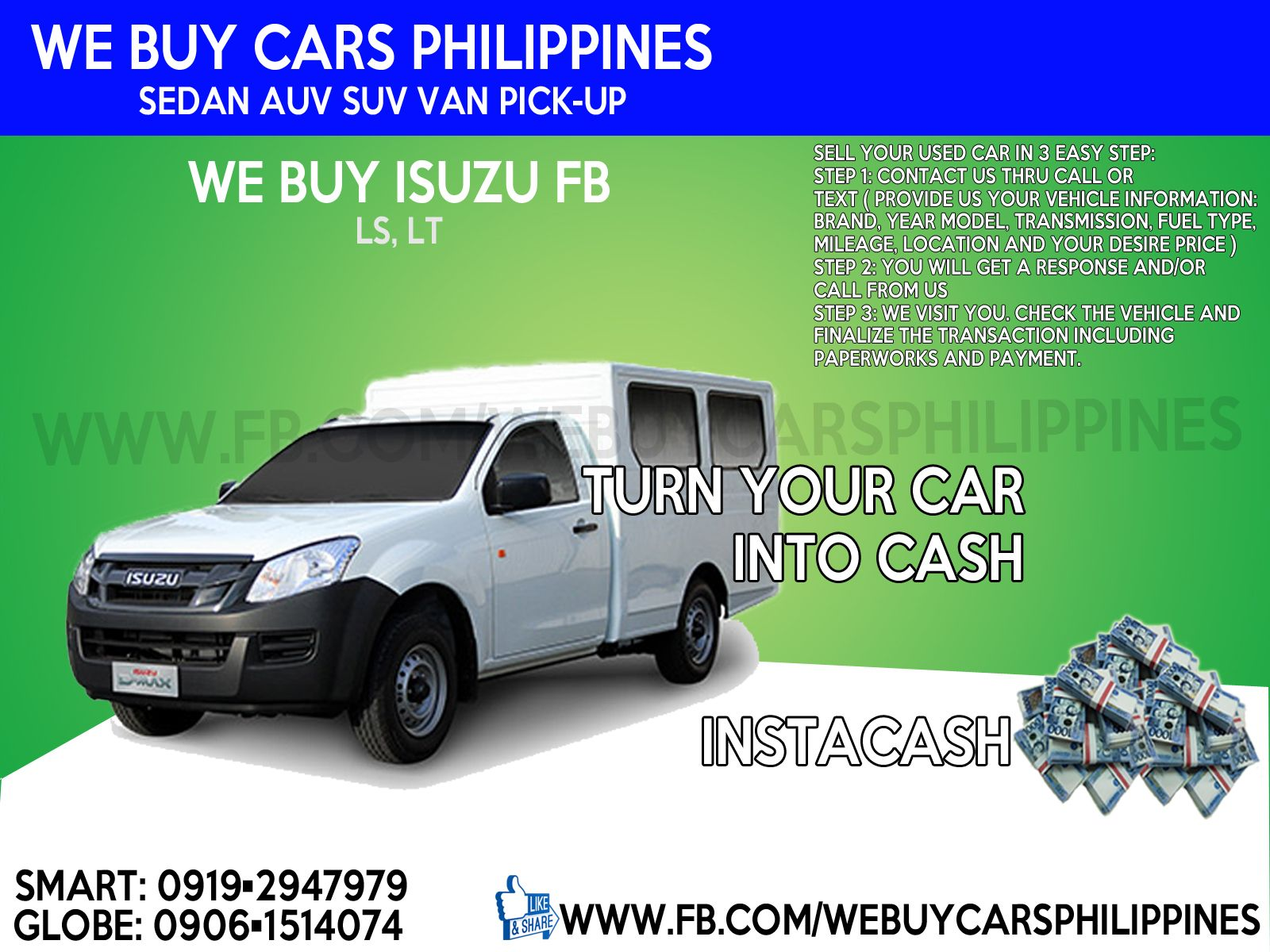 We Buy Used Isuzu Car Philippines Dmax Fb Flexiqube Buying Used