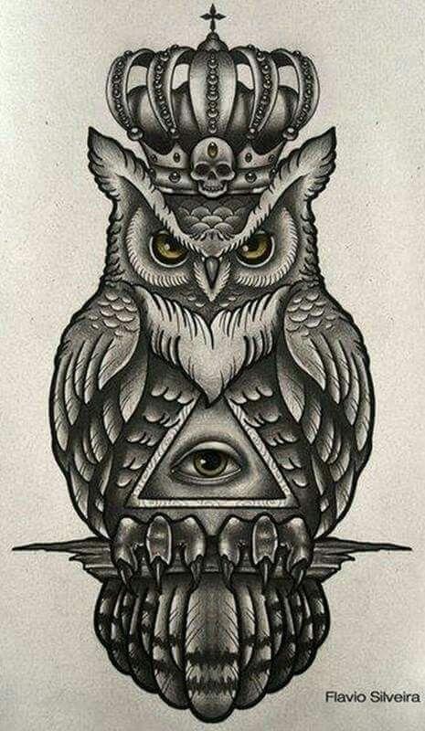 Tattoo Finka Owl | tattoo ideas | Pinterest | Tattoo, Owl and Tatoo
