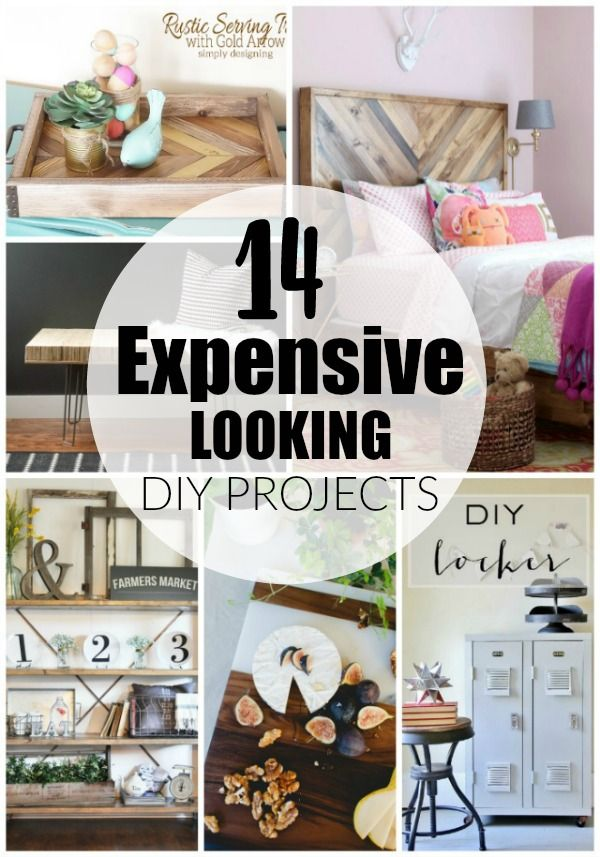 14 Expensive Looking Diy Projects Home Diy Diy Decor Diy Projects