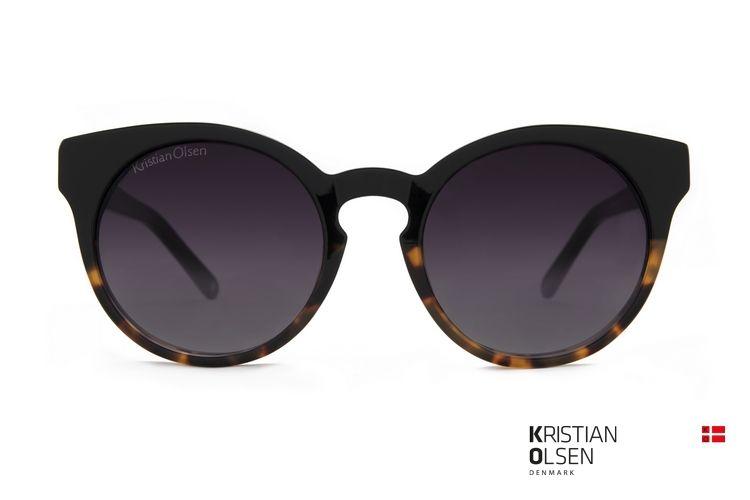 fc6a026308a8a Kristian Olsen – Arby Black Demi – Kristian Olsen Eyewear