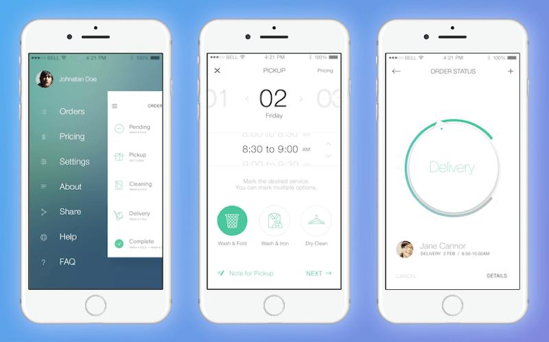 Uber For Laundry App Development Business Model and