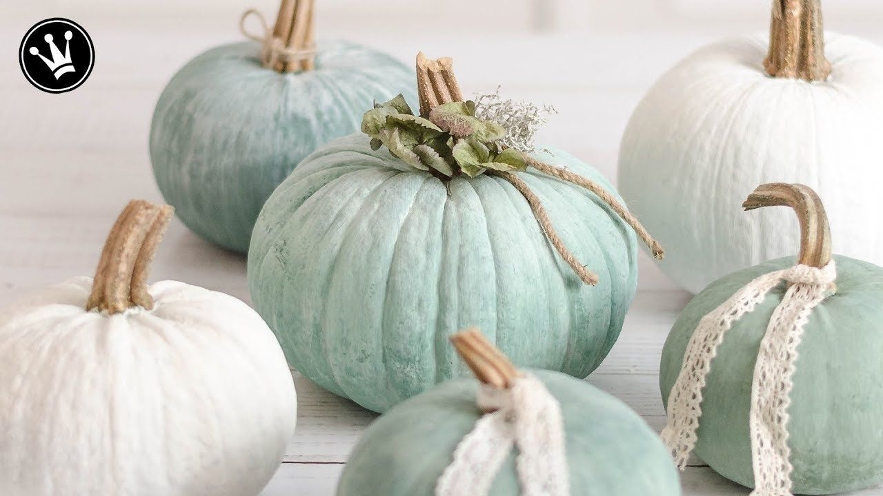DIY - Herbstdeko | Kürbisse bemalen | Heirloom Kürbisse selbermachen | Kürbisse designen | How to