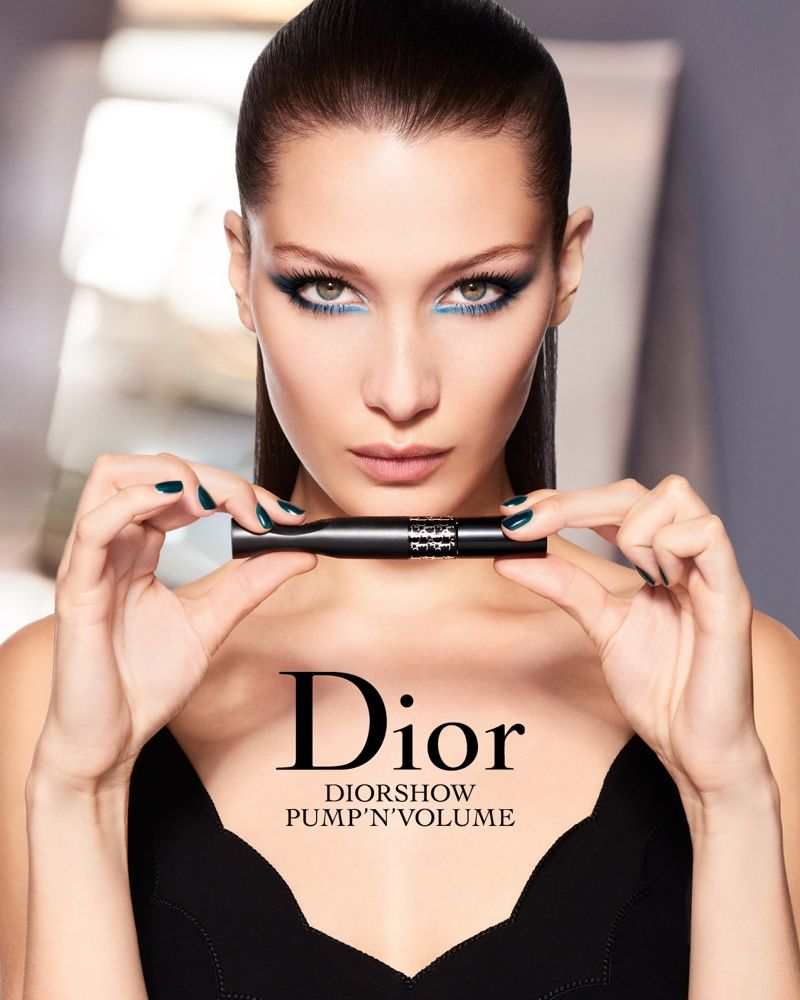 4690ba158be Bella Hadid 'Pumps it Up' in Her First Dior Makeup Campaign | Beauty ...