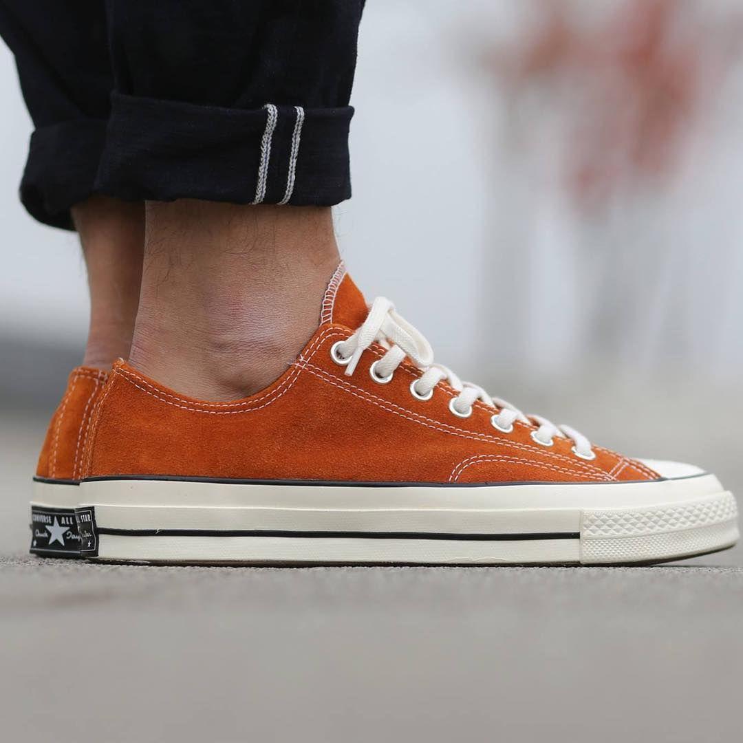 Converse 70s Ox Orange Bitte Size : 8 IDR 1.499.000