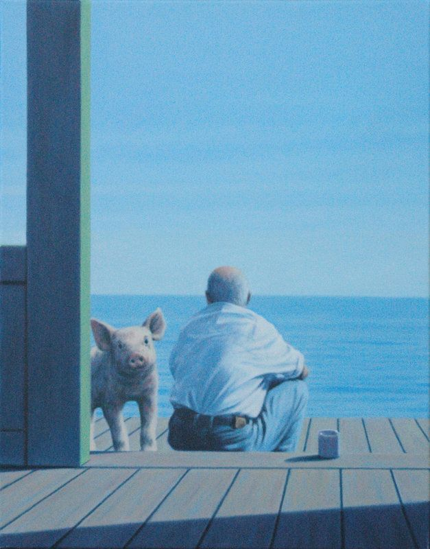 ☆ Ping and Man :¦: By Artist Quint Buchholz ☆