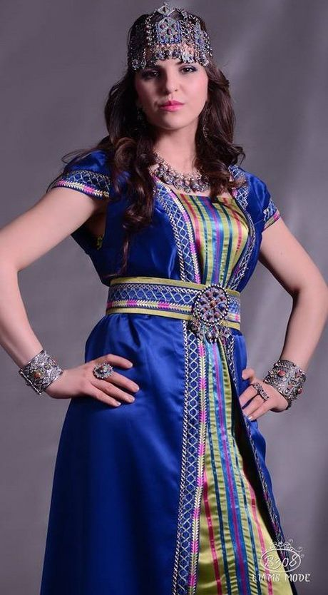 Nouvelle robe kabyle 2016 robe kabyle pinterest - Robe nouvel an 2016 ...