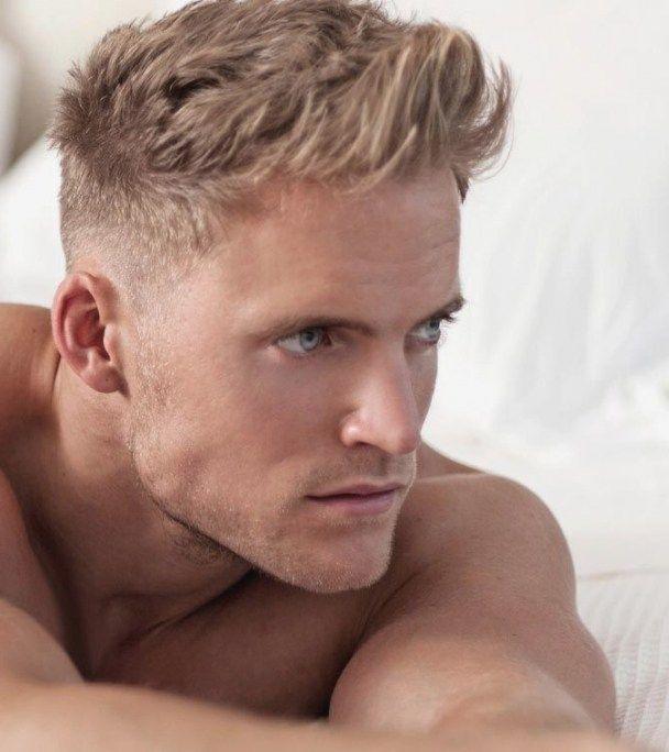 Mens Blonde Hairstyles 2018 Herren Frisuren Kurz Blond Frisuren Lockige Mannerfrisuren
