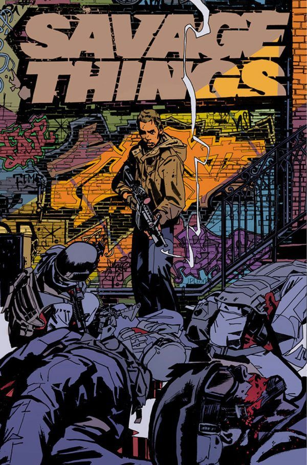 MINISERIES SAVAGE THINGS TO JOIN THE VERTIGO SLATE IN MARCH