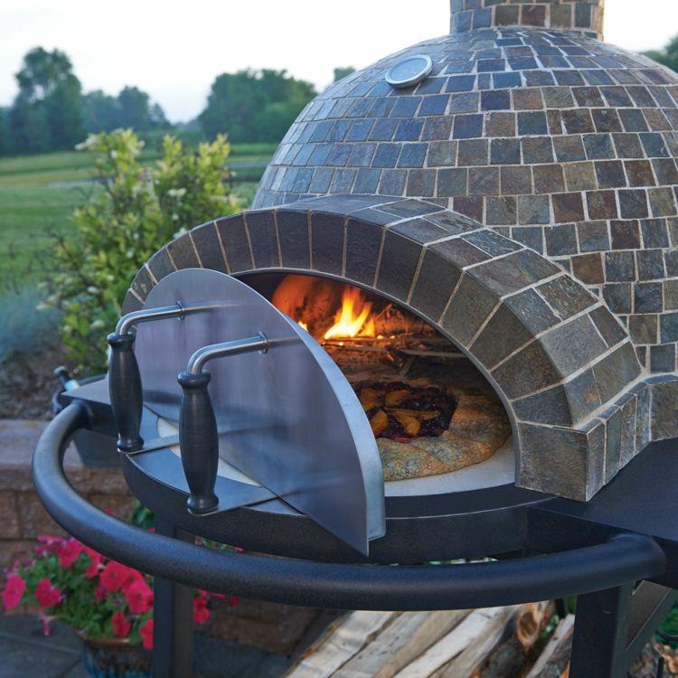 Garten Pizzaofen Diy Klinker Tuer Metall Staender Pizzaofen Bauen Pizzaofen Pizzaofen Garten