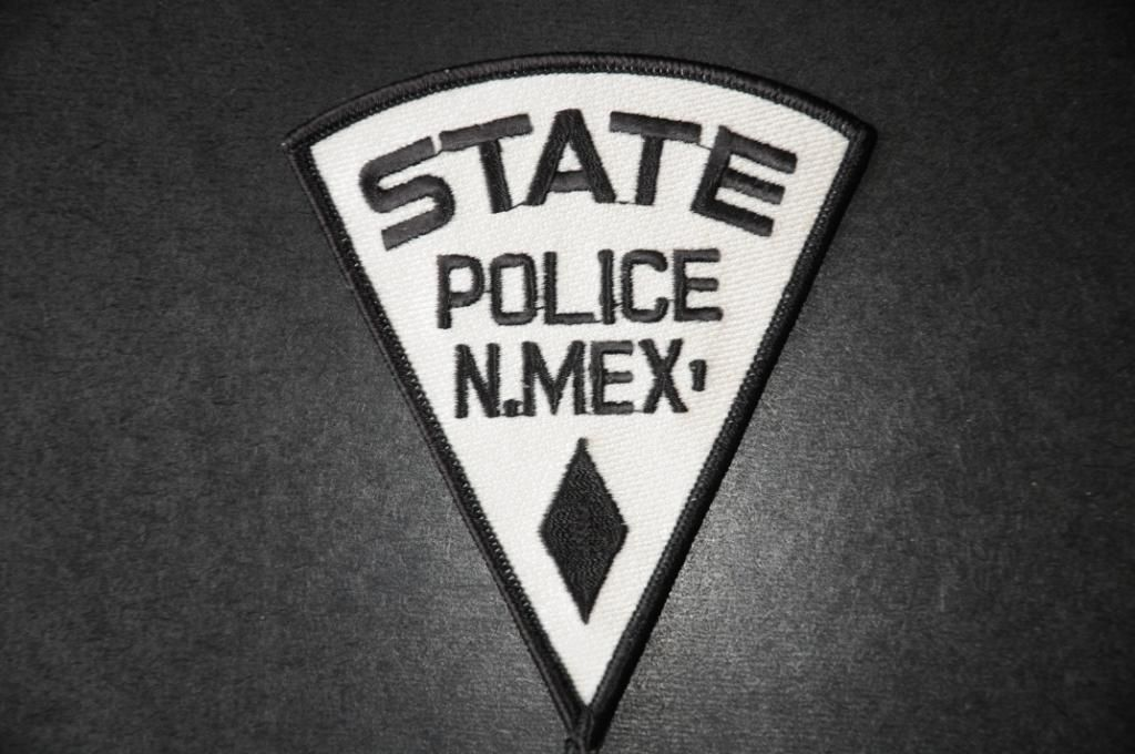 New mexico state police state police police police patches