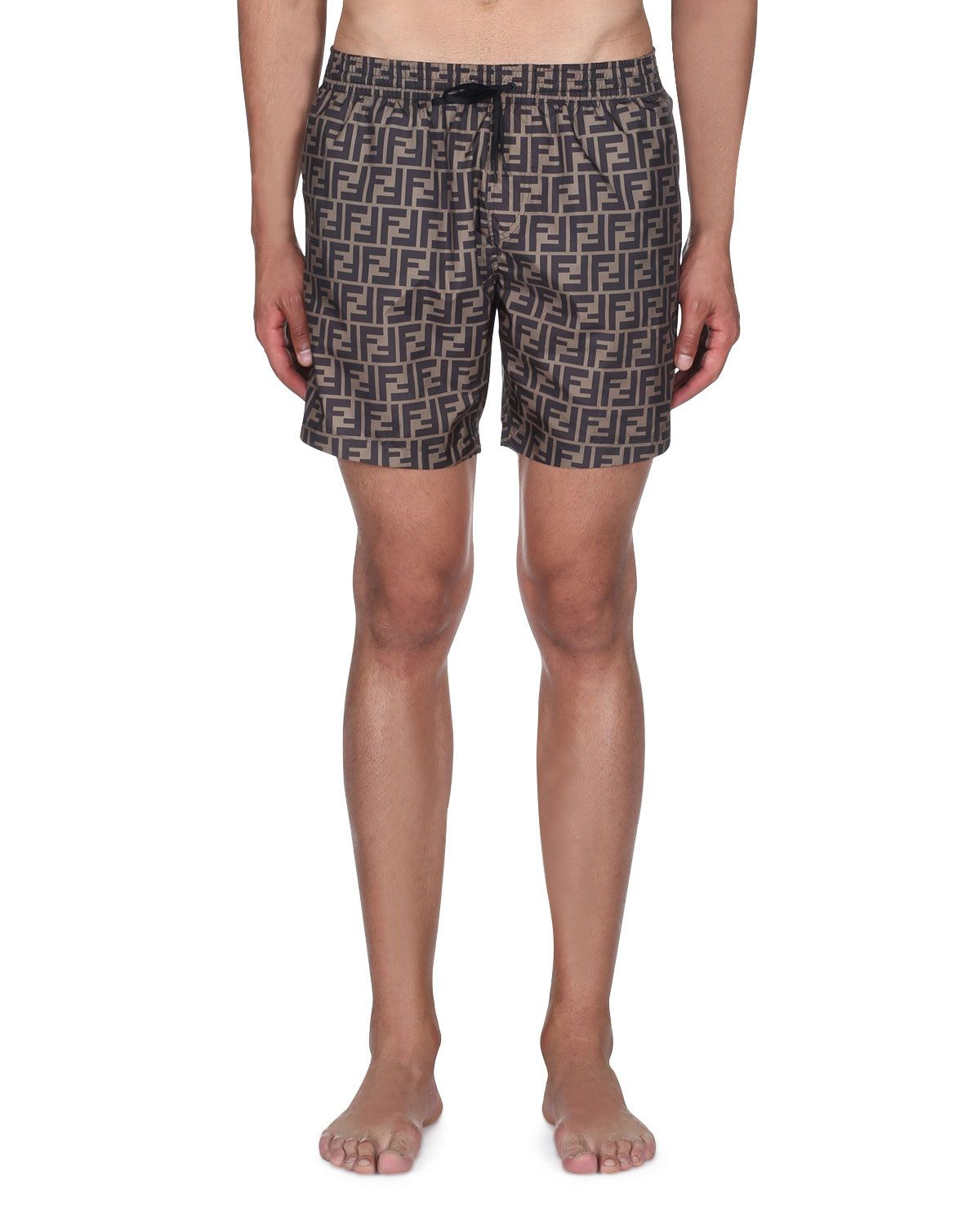 47ee4241 FENDI MEN'S LOGO ALLOVER SWIM TRUNKS. #fendi #cloth | Fendi in 2019 ...