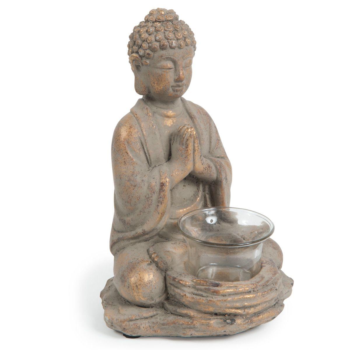 Bougeoir Bouddha Kigali Bouddha Bougeoirs Objet Deco