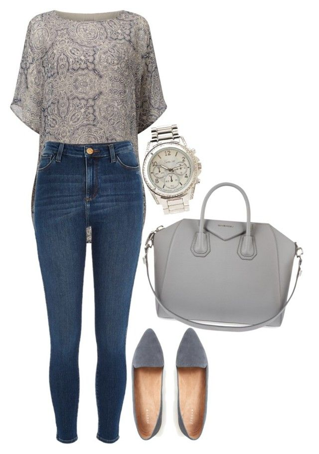 """""""Untitled #919"""" by gabbyriera on Polyvore featuring Charlotte Russe, Phase Eight, River Island and Givenchy"""