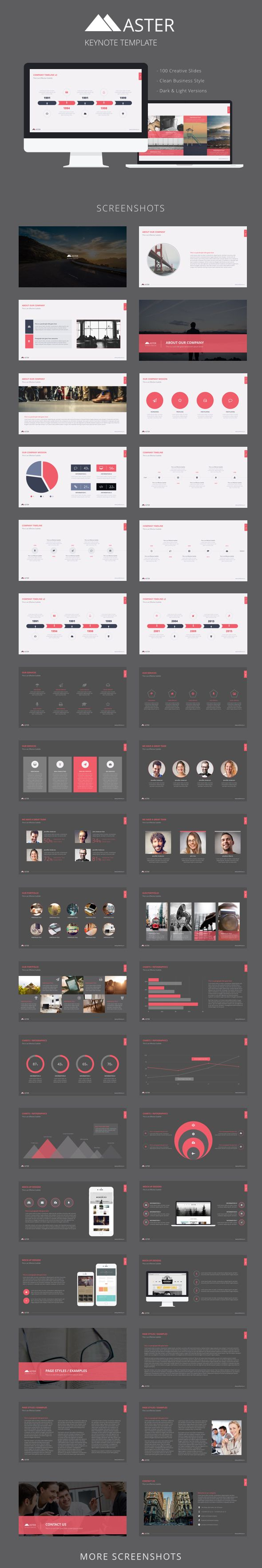 Master Keynote #Template | product&layout | Pinterest