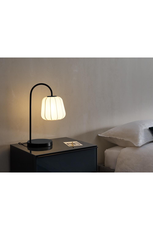 Grover Tischlampe, Weiß