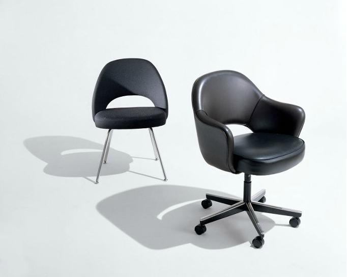 Saarinen Executive Armchair Designed By Eero Saarinen For Knoll Chaise Chair Furniture Furniture Chair