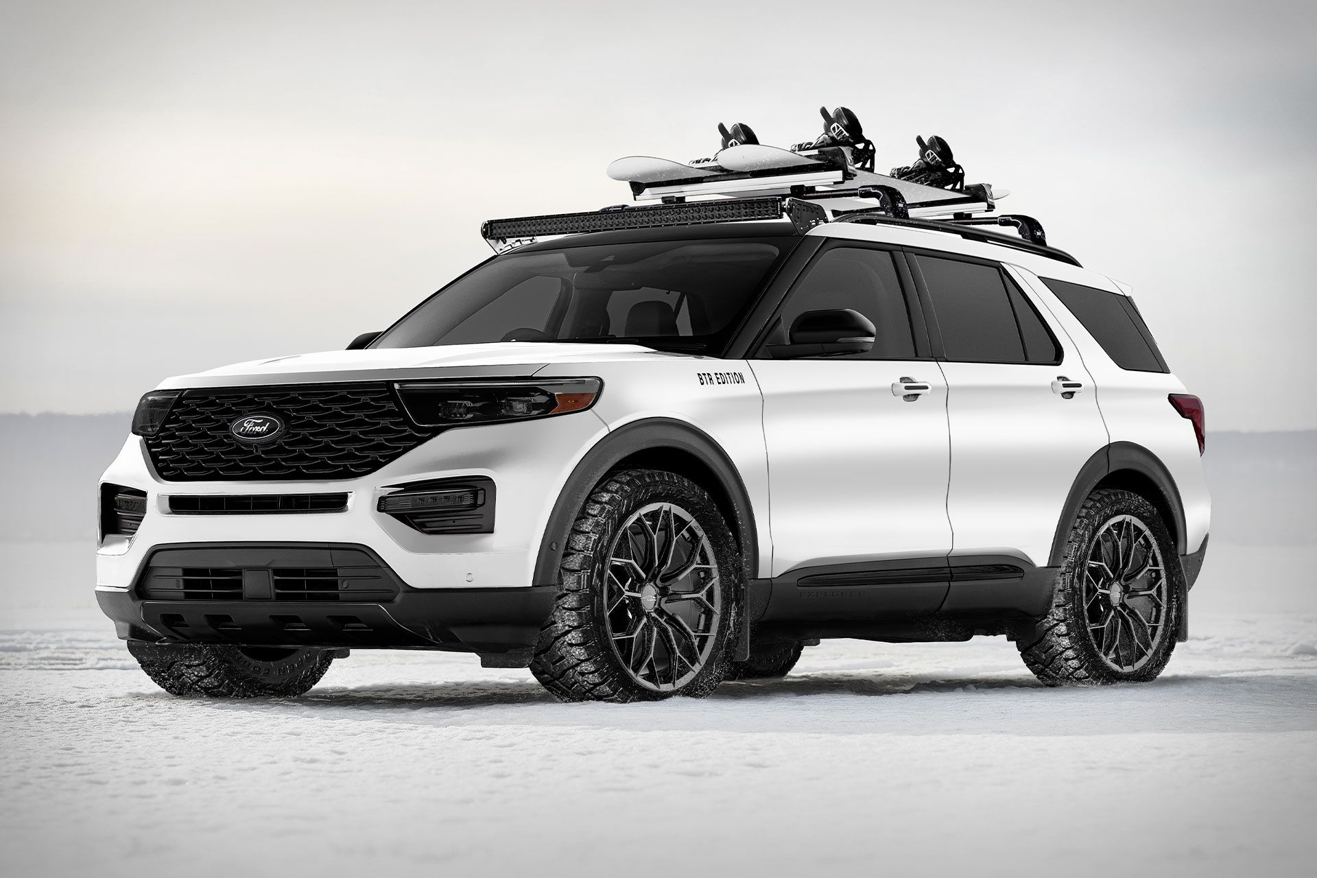 2020 Ford X Blood Type Racing Explorer Suv 2020 Ford Explorer Ford Explorer Limited Ford Explorer