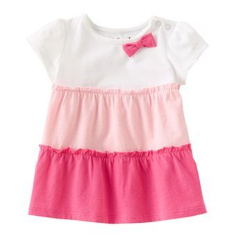 Kohls Baby Clothes Adorable Jumping Beans Colorblock Tiered Babydoll Top  Baby #kohls  Baby On Design Inspiration