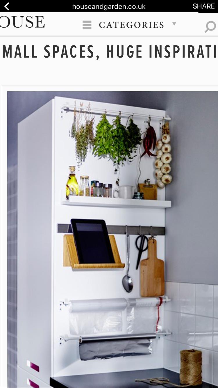 Pin von Stephanie auf Kitchen Organization | Pinterest | Küche klein ...
