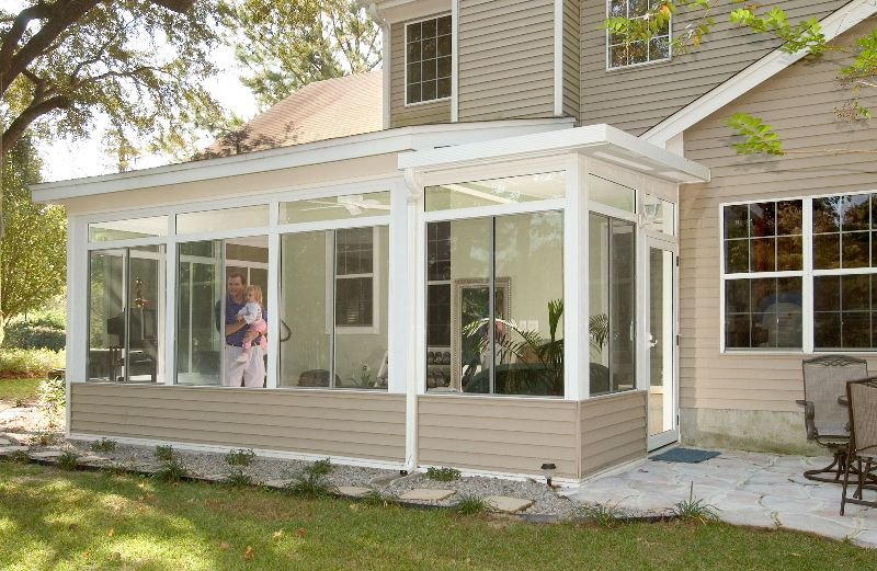 Champion Sunrooms | Hear What Our Customers Are Saying Read More » Enclosed  Patio, Screened